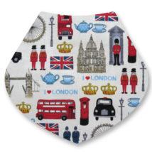 London Bandana Dribble Bib