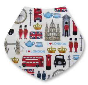 London Bandana Dribble Bib