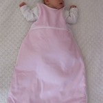 pink baby sleeping bag