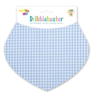 Blue Baby Boy Teething Bib