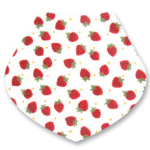 Strawberries Bandana Dribble Bib