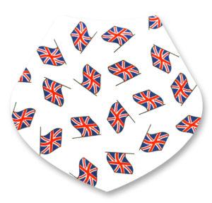 UK Flags Bandana Dribble Bib