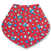 Teddies and Cakes bandana dribble bib