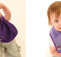 Silly Billyz Plain Fleece all purpose bibs