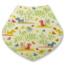 Liberty Plum dog bandana dribble bib