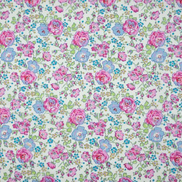 Pink Floral Baby Bib
