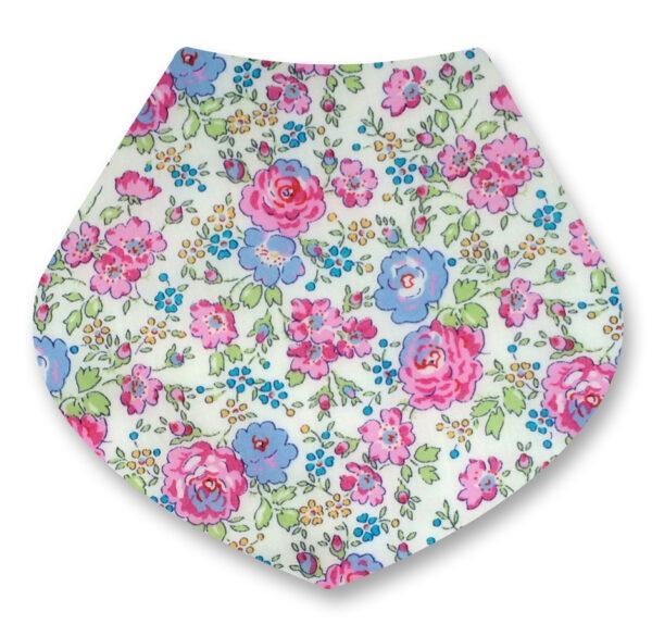 Liberty Felicte Pink bandana dribble bib