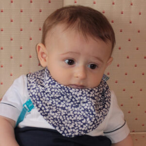 Liberty Glen jade bandana dribble bib