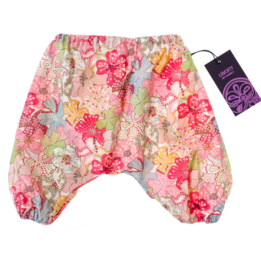 liberty baby bloomers mauvey