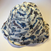 Liberty Toms jets baby sun hat