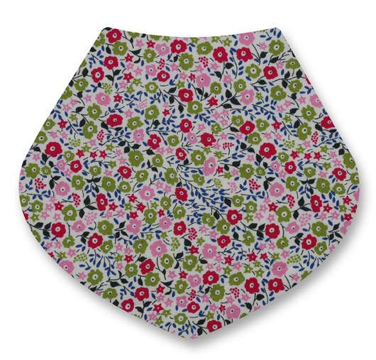 Fairford Green bandana dribble bib
