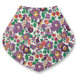 Dribble bib betsy lilac