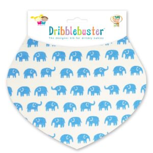 Elephants Baby Dribble Bib