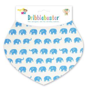 Elephants Baby Dribble Bib