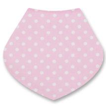 pink spotty bib