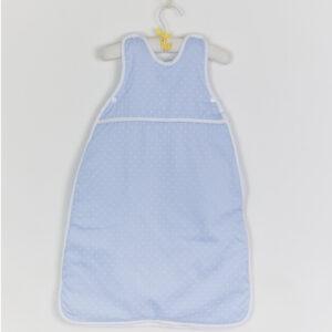 blue baby sleep bag