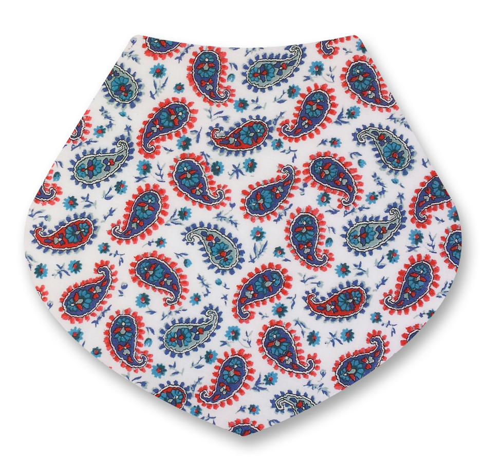 paisley red blue liberty