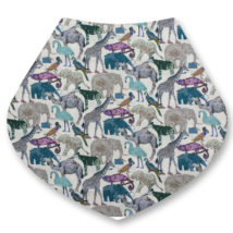Liberty bandana dribble bibs Q for the zoo