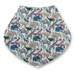Liberty bandana dribble bibs Q for the zoo