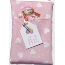 Cute Doll in Pink Sleeping Bag