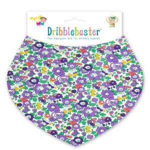 Purple Baby Bib