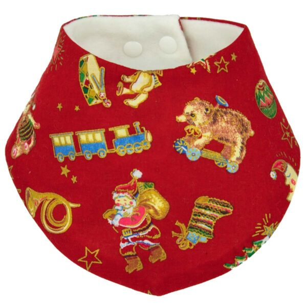 Red Christmas Bib