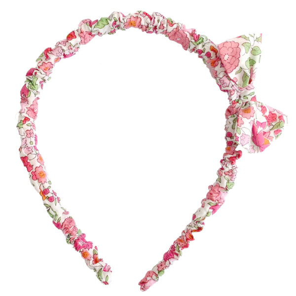Hairband With Bow For Baby Girl