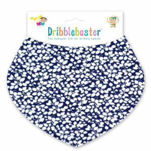 Blue Baby Dribble Bib