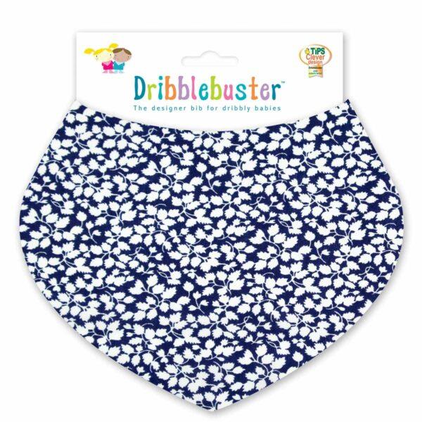 Blue Baby Dribble Bib