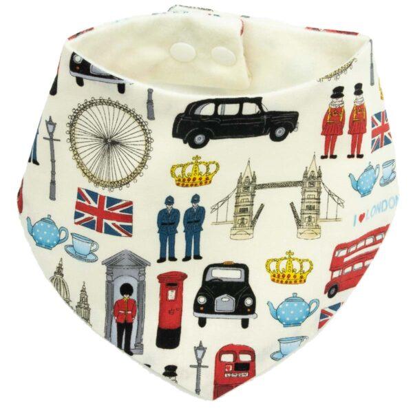 London Baby Dribble Bib